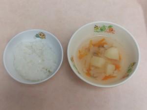 7~8か月 5倍がゆ、ポテトスープ