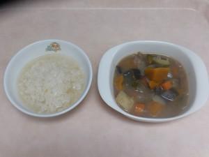 9~11ヶ月離乳食 なんはん 野菜スープ