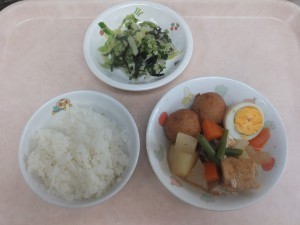 幼児食 ご飯 関東煮 即席漬け