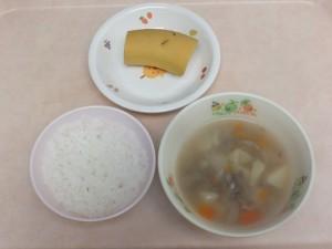 離乳食 おかゆ 野菜スープ バナナ