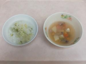 離乳食 五目がゆ 五目スープ