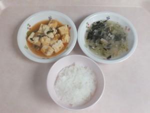 離乳食 おかゆ 豆腐のそぼろ煮 おひたし